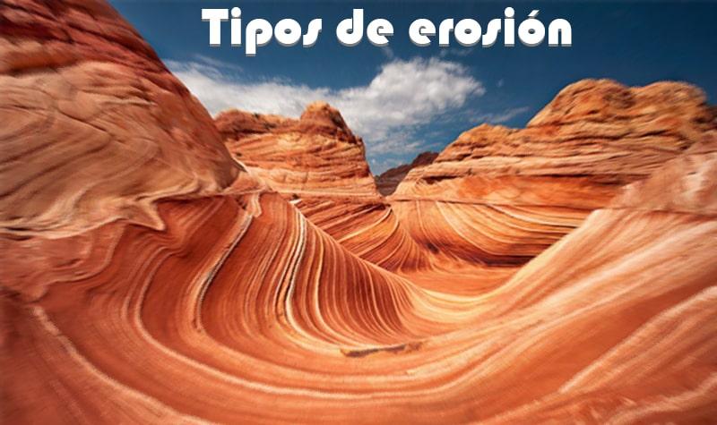 tipos de erosion