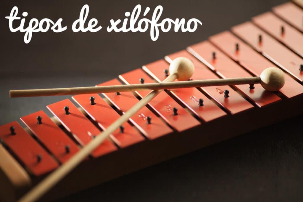 tipos de xilofono